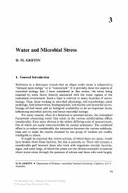 water and microbial stress springer inside