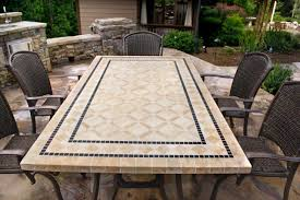 7 pc patio dining set swivel chairs