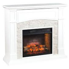 castlecreek electric stone fireplace heater
