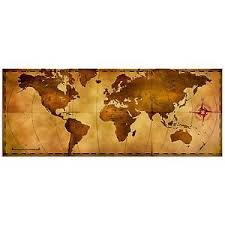 image is loading old world map rustic metal wall art aged  on modern metal wall art ebay with old world map rustic metal wall art aged antique style nautical
