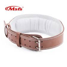 leather weightlifting belt gym fitness crossifit dumbbell barbell powerlifting back support power training weight lifting belt