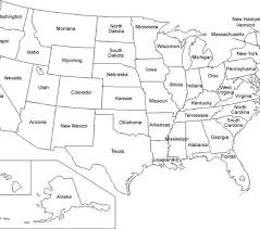 Us Map Coloring Pages Educational Coloring Pages