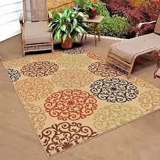 rugs area rugs outdoor rugs 8x10 indoor outdoor carpet beige large patio rugs