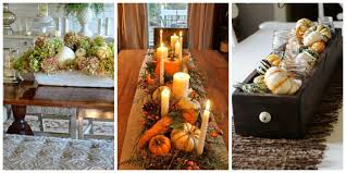Fall Table Centerpieces Best Fall Wedding Centerpieces Diy 30 Fall Table  Centerpieces