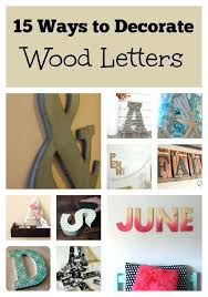 wooden letters decoration whimsical wall decor sbook paper and craft wood for nursery