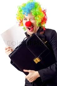 Image result for Clown in suit