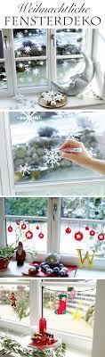 Advent Fensterdeko Basteln Bastelideen Fensterdeko Basteln