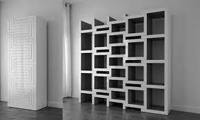 furniturefree standing unique ikea bookshelf on dark wooden