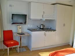 Enter City Hotel: Nice Small Kitchenette In A Studio Apartment.