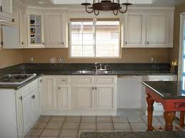 antique white kitchen cabinets image