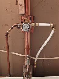 pex shower valve installation diagram reverse osmosis pex shower valve only