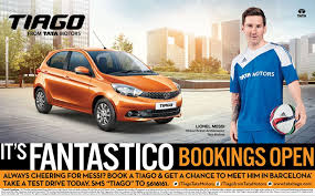 with this tata motors also introduces once in a lifetime opportunity to meet lionel messi