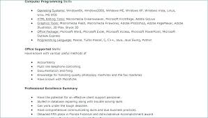 Basic Computer Skills Cv Example Resume Examples Ideas For Software Simple How To List Computer Skills On Resume