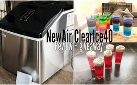 how to make layered jello and newair clearice40 ice maker review