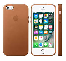 apple apple leather case for iphone se 5s 5 saddle brown cayman mac t a alphasoft