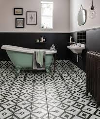bathroom tiles black and white.  White Brixton Tile And Bathroom Tiles Black White I