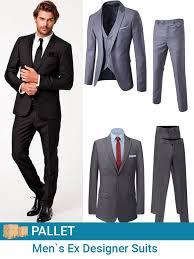 Cheap Mens Designer Suits Ex London Designer Mens Fashion Suits Pallet