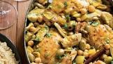 artichoke olive chicken bake