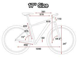 Mountain Bike Wheel Size Chart Bike Frame Size For Mtb Leisure Rides Bicycles Stack Exchange