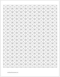 Grid Template Word Isometric Graph Papers For Ms Word Word Excel Templates