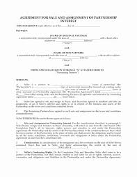Business Partnership Agreement Template New Business Partnership ...