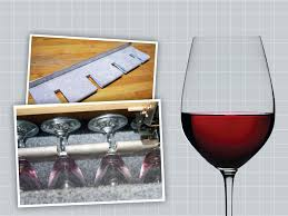diy wine glass holder practical project make a simple for beach candle holders
