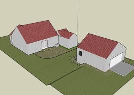 picture of how to build a garage from the ground up