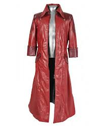 devil may cry 4 dante red leather jacket