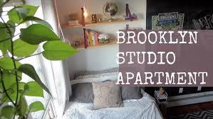 Wonderful STUDIO APARTMENT TOUR // Brooklyn, NY   YouTube