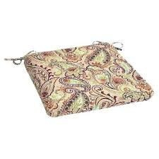 outdoor dining chair cushions outdoor chair cushions the home depot dining chair cushions with ties the