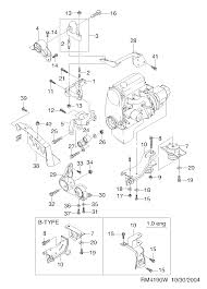 Suport motor matiz poz 4
