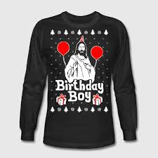 Birthday Boy Jesus Christmas T-Shirt | Spreadshirt