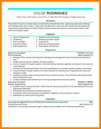 8 Administrative Assistant Resume Summary Letter Adress