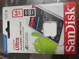 Thẻ nhớ MicroSDXC SanDisk Ultra A1 64GB 120MB/s SDSQUA4-064G-GN6MN    Memoryzone - Professional in memory
