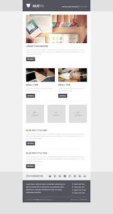 Gusto Email Psd Template Web Design Pinterest Psd Templates