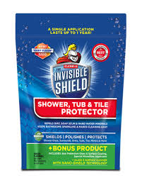 invisible shield shower tub tile protector