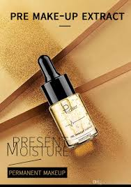 2018 newest pudaier pre makeup extract primer essence 24k gold face gold oil moisturizer essence long lasting moisturizin makeup for beauty best full