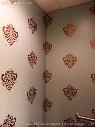marvellous design decorative wall stencils interior designing ornamental flower stencil stenciling and uk australia