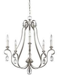 murray feiss lighting f3070 5srs dewitt five light chandelier