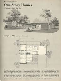Mid century modern vacation homes a frames ranch house plans    Vintage House Plans  s homes  mid century homes