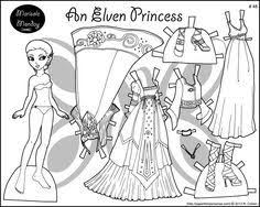 Small Picture Printable Paper Doll and Kids Activity Printable paper Dolls