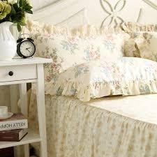 ruffled pillow shams.  Ruffled Hot Pastoral Pillow Case Rose Flower Print Ruffle Sham Princess  Pillows Home Textile In Ruffled Pillow Shams