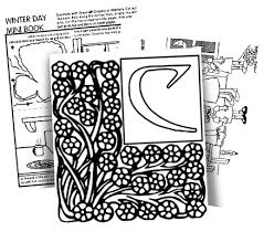 words and letters coloring pages
