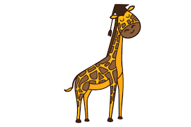 Download giraffe free svg & png file for your diy project. Graduation Giraffe Svg Cut Files Download Free Svg Files Creative Fabrica