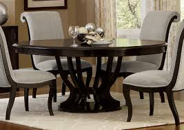 Savion Contemporary Round Wood Extendable Dining Table By