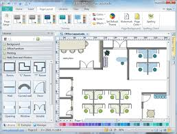office space software. Brilliant Office Office Layout Software Create Easily From Templates Throughout Space  Designs 5 And A