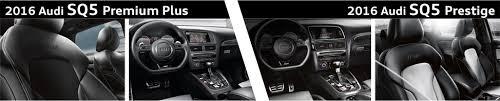 2018 audi prestige vs premium plus. beautiful audi 2016 audi sq5 premium plus vs prestige model interior  comparison inside 2018 audi prestige vs premium plus