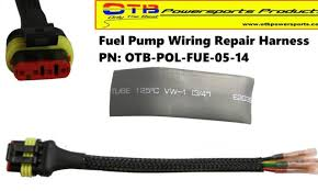product category wiring harnesses otb powersports products fuel pump wiring repair harness