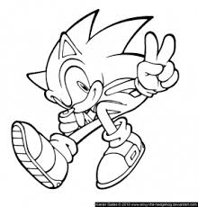 Sonic Free Printable Coloring Pages For Kids