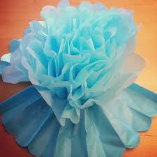 Terrific Tutorial How To Make Diy Giant Tissue Paper Flowers Hello In Diy  Giant Tissue Paper